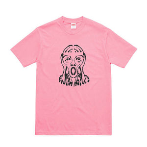 SUPREME SCREAM TSHIRT PINK