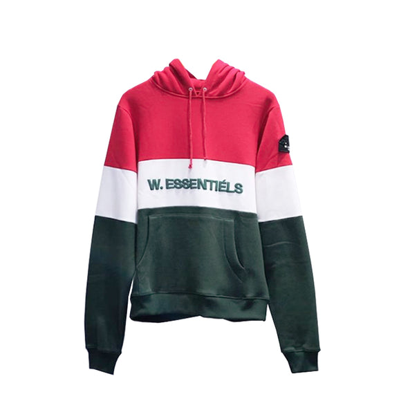 TRICOLORE HOODIE FW18 ITALIANO (GREEN-WHITE-RED)