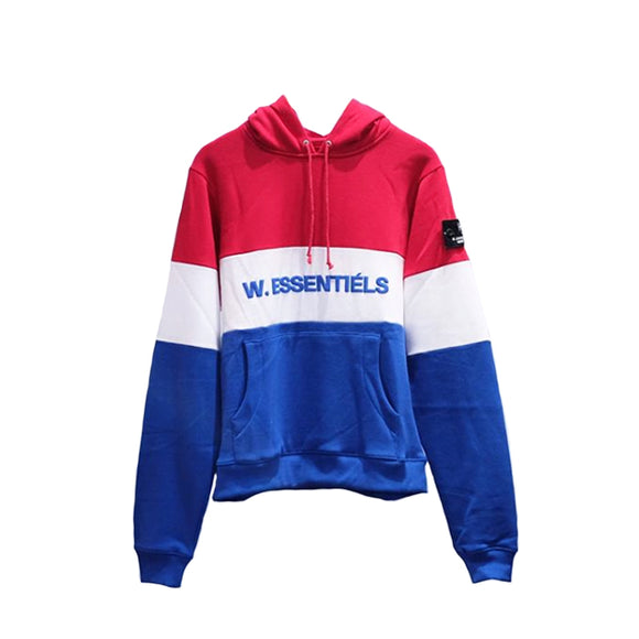 TRICOLORE HOODIE FW18 LES FRANCE (BLUE-WHITE-RED)