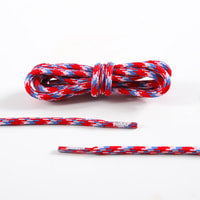 125CM TWILLY MIX COLOR ROPE LACES