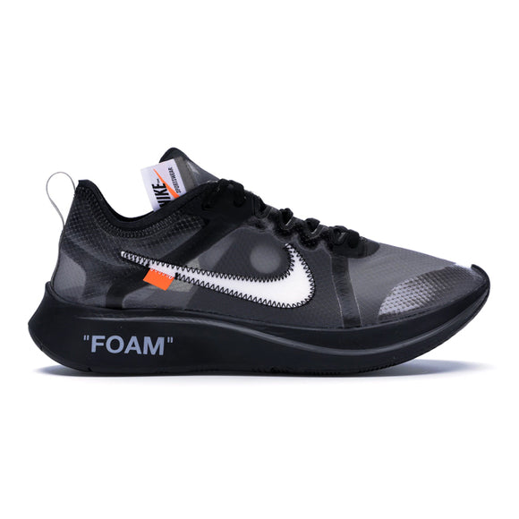 ZOOM FLY OFF-WHITE BLACK SILVER