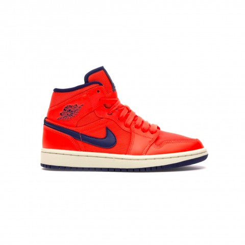 AIR JORDAN 1 MID TURF ORANGE BLUE VOID (W)
