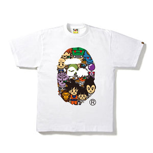 BAPE x DRAGON BALL Z TEE #8 WHITE