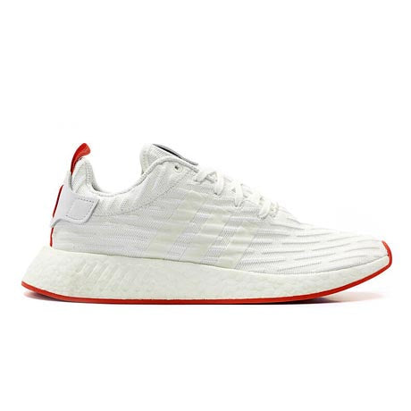 official photos 3f61f 0782e NMD R2 WHITE CORE RED TWO TONED