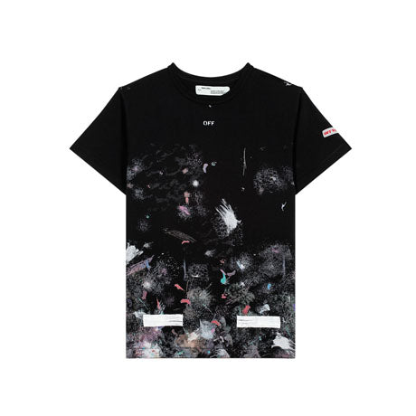 GALAXY BRUSHED TEE SS BLACK