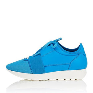 RACE RUNNERS BLUE WHITE BLUE