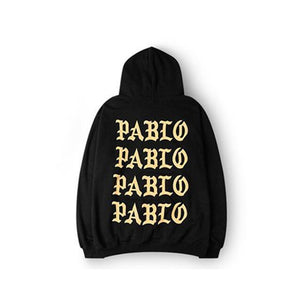 I FEEL LIKE PABLO-HOODIE-BLACK/GOLD