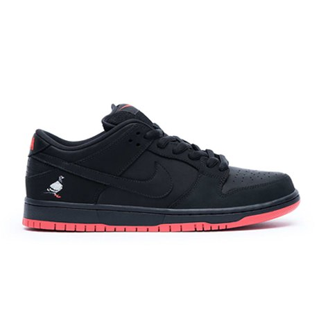 SB DUNK LOW BLACK PIGEON