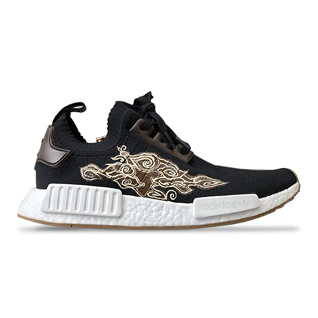 NMD R1 GUM PACK BLACK CUSTOM BATIK