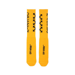 YELLOW MID LENGTH SOCKS