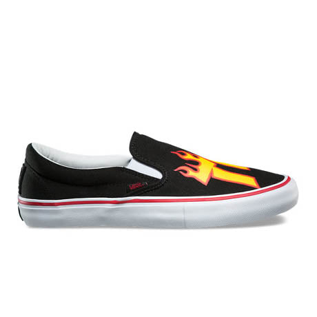 VANS X THRASHER SLIP-ON PRO BLACK