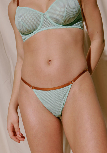 Blush OTP Mint Thong