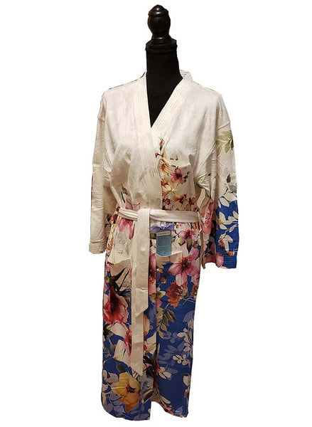 Spring Botanicals Long Robe- Wrap-Up VIP