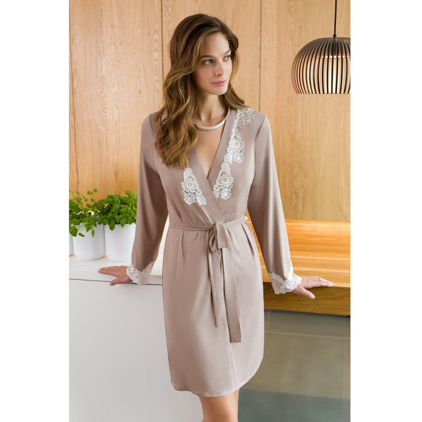 Allure Dressing Gown - Carolenna Women's Luxury Night Gowns