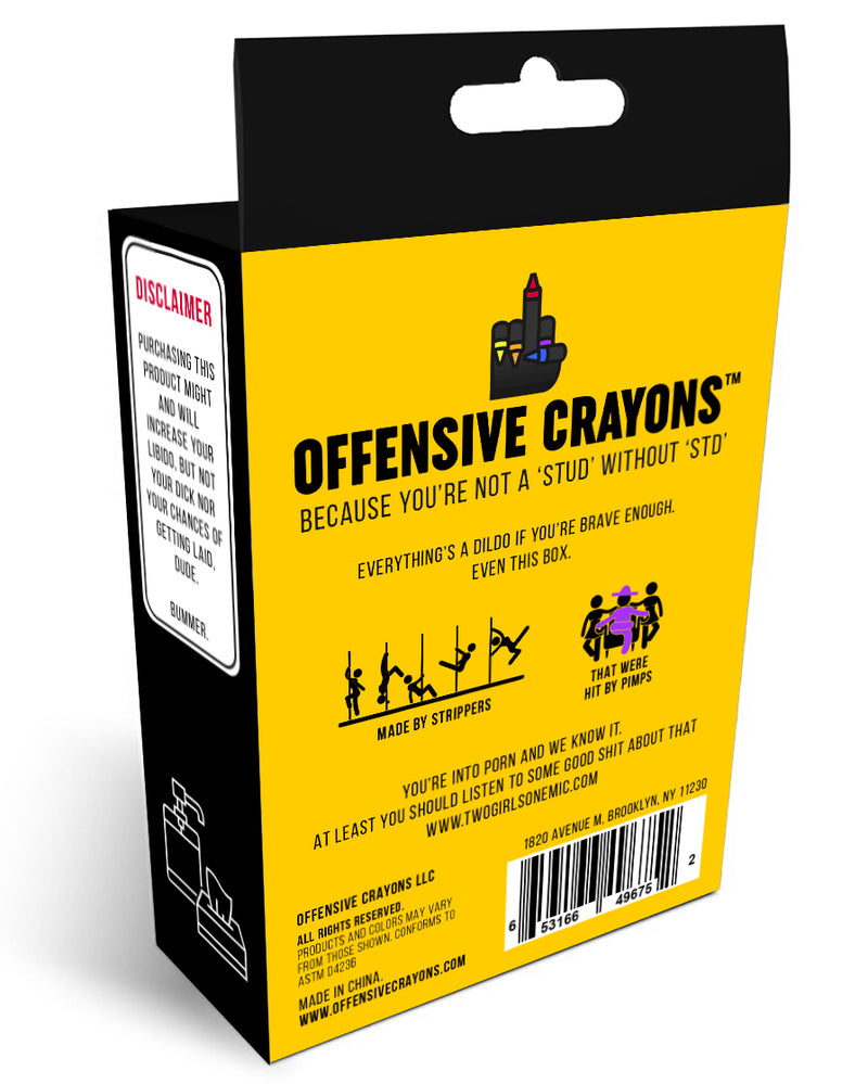 """Porn Pack"" Edition - Offensive Crayons"