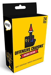 Holiday Edition - Offensive Crayons