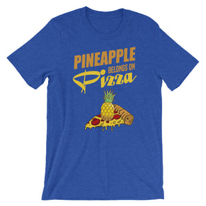 """Pineapple Belongs on Pizza"" Tee - Offensive Crayons"
