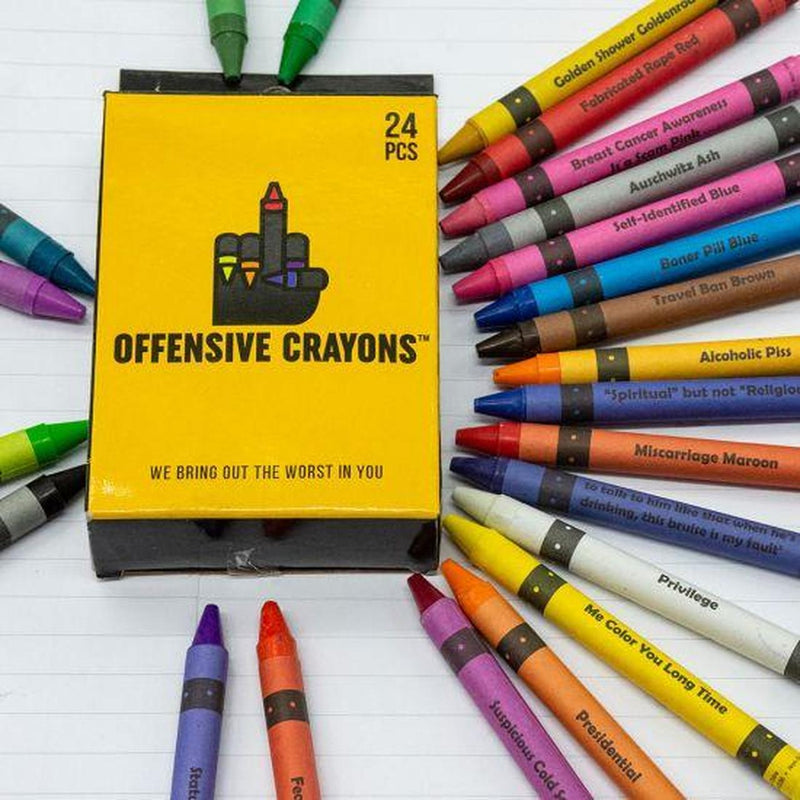 Original Offensive Crayons - Offensive Crayons