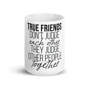 """True Friends"" Mug - Offensive Crayons"