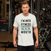 I'm Into Fitness Tee - Offensive Crayons
