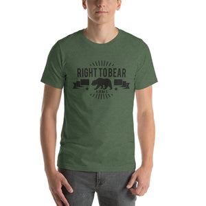 Right To Bear Arms Tee - Offensive Crayons