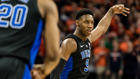 Duke Blue Devils hold off Virginia 81-71