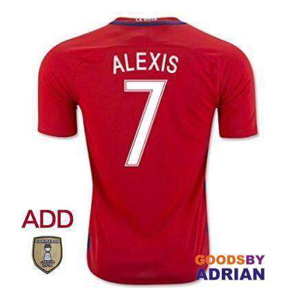 Chile National Team Soccer Jerseys-Soccer Jerseys - GoodsByAdrian