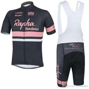 Rapha summer mountain bike short-sleeved breathable quick-dry cycling jersey- - GoodsByAdrian