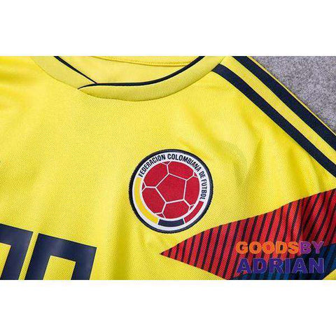 2018 World Cup Colombia Soccer Jerseys-Soccer Jerseys - GoodsByAdrian