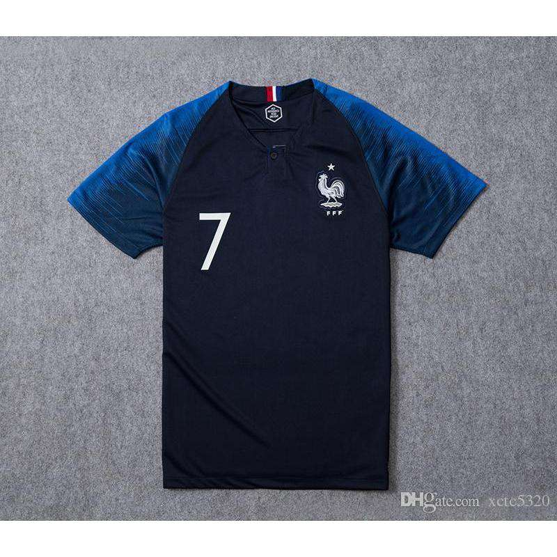 best website 7ade1 378b9 2018 World Cup Champions France Jerseys!