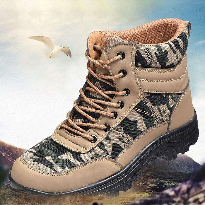 3f8933dc64d Men spring summer Steel Toe Caps Work Safety Shoes Anti-Smashing Puncture  Proof Shoes Durable Breathable Protective Shoes