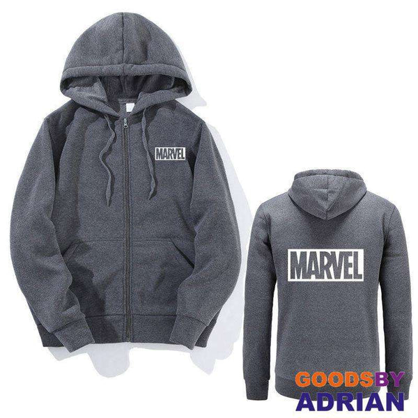 2018 Men Women Marvel Hoodies Long sleeves Casual Sweatshirt-Hoodie - GoodsByAdrian
