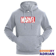 Load image into Gallery viewer, High Quality MARVEL letter printing fashion hoodies-Hoodie - GoodsByAdrian