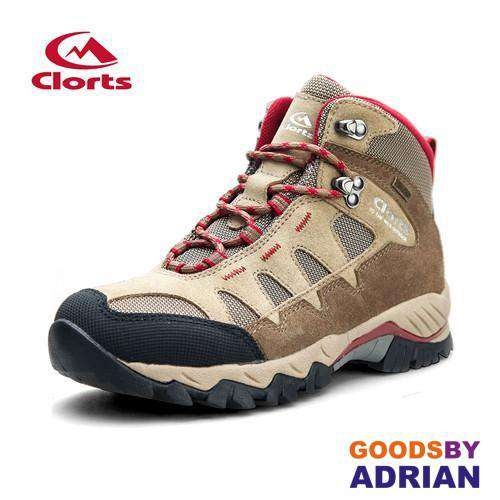 Clorts Women's Hiking Boots Waterproof Trekking Shoes Suede Outdoor Shoes Woman Mountain Climbing- - GoodsByAdrian