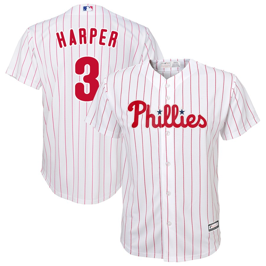 Philadelphia Phillies Bryce Harper Jerseys