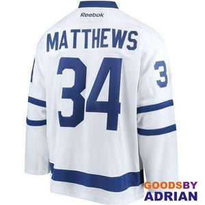 Stitched Toronto Maple Leafs Auston Matthews Blue/White, Pro Jerseys-Hockey Jerseys - GoodsByAdrian