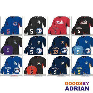 Any MLB Player Jersey-Baseball Jersey - GoodsByAdrian