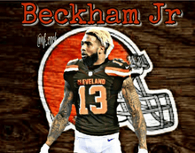 Load image into Gallery viewer, Cleveland Browns Odell Beckham Jr Jerseys