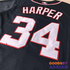Washington Nationals Jerseys Bryce Harper, Trea Turner, Max Scherzer, Murphy, Stephen Strasburg-Baseball Jerseys - GoodsByAdrian