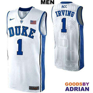 Kyrie Irving Duke NCAA Basketball Stitched Jerseys-Basketball Jerseys - GoodsByAdrian