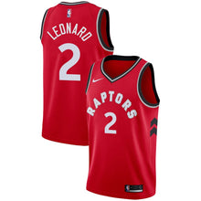 Load image into Gallery viewer, 2019 Toronto Raptors 2 Kawhi Leonard 7 Kyle Lowry Stitched Basketball Jerseys