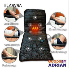 KLASVSA Vibrating Massage Mattress DC12V  Massage Cushion Sofa Bed electronic massage therapy bed Massage Relaxation massageador-Healthy Therapy - GoodsByAdrian