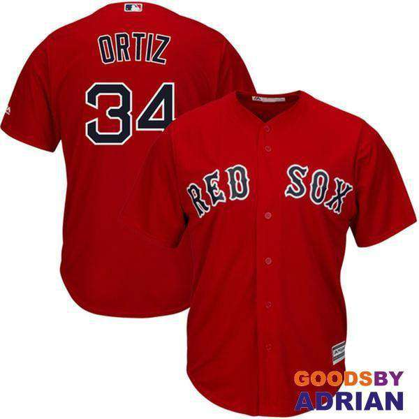 Boston Red Sox Chris Sale Mookie Betts 2017 PRO All-Star Cool Base Jersey David Ortiz Dustin Pedroia-Baseball Jerseys - GoodsByAdrian