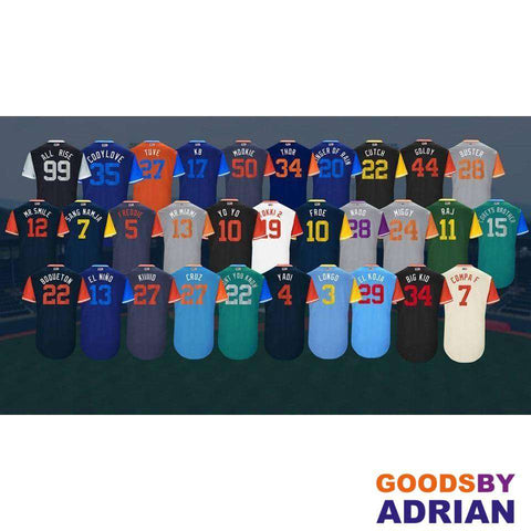 2017-Little League World Series Weekend Player Custom PRO Jerseys - Any Player, Any Team-Baseball Jerseys - GoodsByAdrian