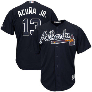#13 Ronald Acuna Jr. Atlanta Braves Jersey-Heat Therapy - GoodsByAdrian