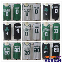 Load image into Gallery viewer, Boston jersey Celtics Kyrie Irving, Gordon Hayward, Jayson Tatum jersey 100% Stitched-Basketball Jerseys - GoodsByAdrian