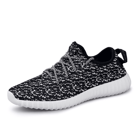 Yeezy Style Men's Light Running Breathable Running Shoes- - GoodsByAdrian