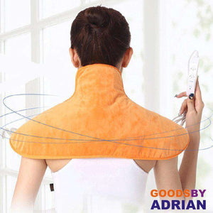 Electric Moxibustion shawl neck Cervical and shoulder heating pad cervical heating blanket Multiple protection+ Moxibustion bag-Heat Therapy - GoodsByAdrian