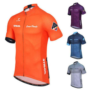 Men's Pro Maillot Ciclismo Road Summer Short Sleeve Cycling Jersey- - GoodsByAdrian