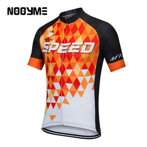NOOYME Summer MTB Cycling Jerseys for Men- - GoodsByAdrian